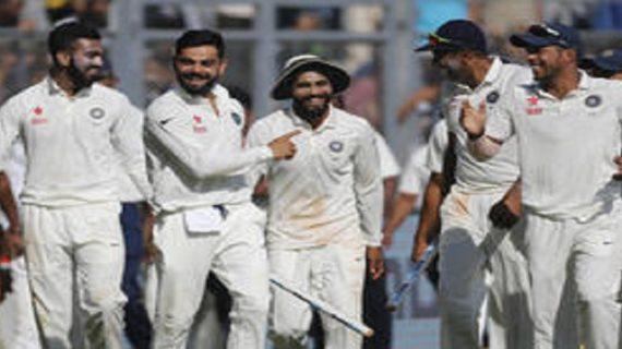 आईसीसी टेस्ट क्रिकेट की ताजा रैंकिंग में भारत सबसे ऊपर