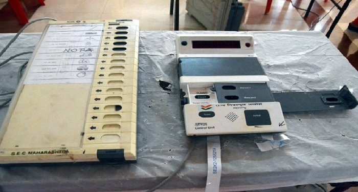 malfunctioning, evm, vote, bjp, maharashtra, collector, Election commission