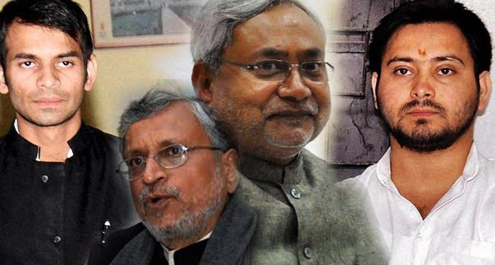 Nitish kumar, son, Lalu prasad yadav, sack, Cabinet, Sushil Modi