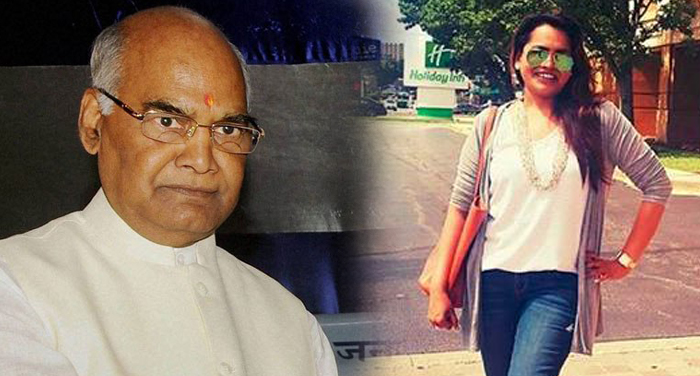 ramnath kovind, daughter, swati, work, air india, air hostess