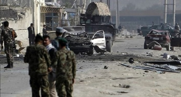 Kabul, Afghanistan, capital, car, bomb blast, incident