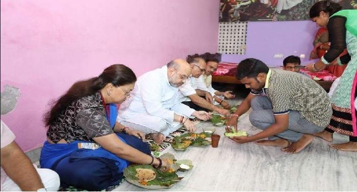 amit shah, bjp, president, rajasthan, visit, meet, party, leader