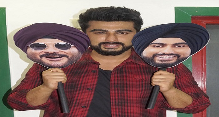 bollywood, Arjun Kapoor, promoted, Mubarakan, Delhi, film