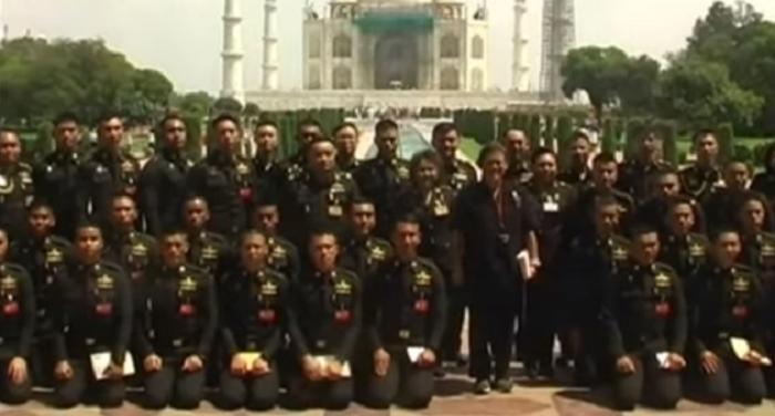thailand, thailand queen, look, tajmahal, agra, mumtaz