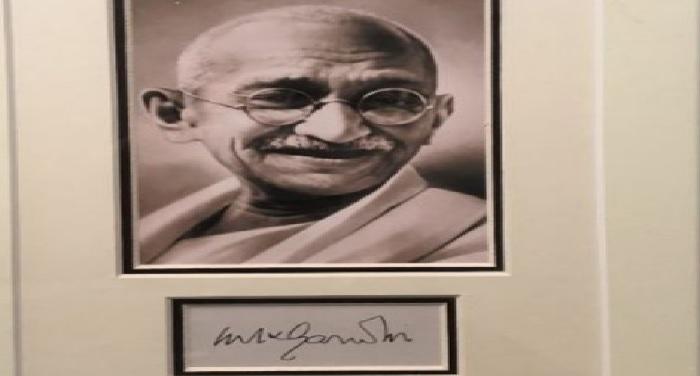 bollywood, Launch, poster, Gandhi Memorbialia, Bapu, Bhanu Pratap Singh