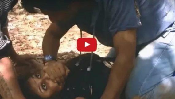 देखें पूरा वीडियो: रेप कर युवती का वीडियो बना वायरल करने की दी धमकी