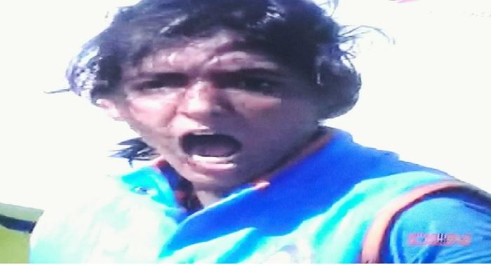 Harmanpreet, angry, defeating, Australia, runs, icc, indian team
