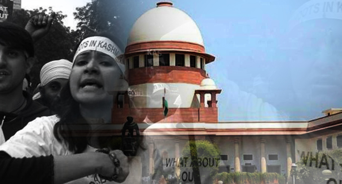 sc, refuses, trial, sepratists, offence, against, kashmiri pandit