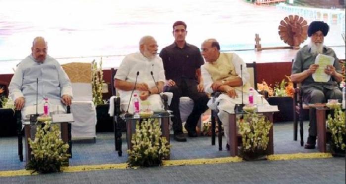 NDA, Ananth Kumar,Sumitra Mahajan, meeting, presidential election
