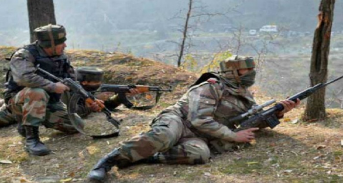 Indian soldier, martyred, Pak army, firing, Balacot