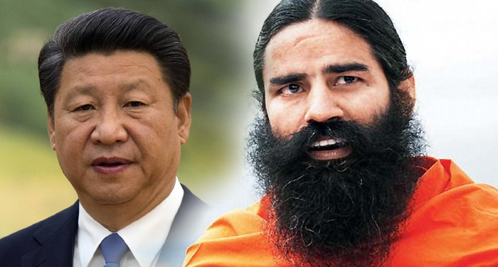 boycott, chinese product, china, rub, nose, ramdev, india