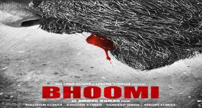 sanjay dutt, film, bhoomi, first look, poster, bollywood
