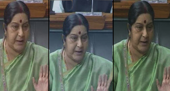 sushma swaraj, speaks, indian, iraq, india, mosul, parliament