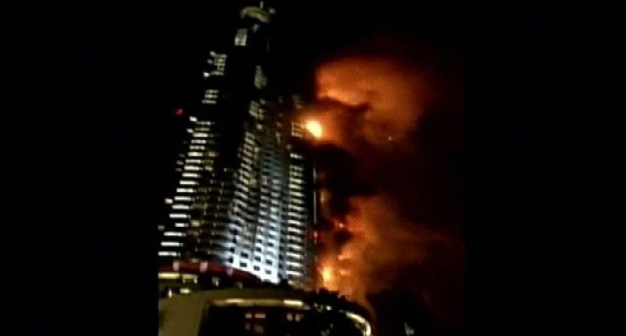 dubai, marina, torch tower, ablaze, Skyscraper, fair