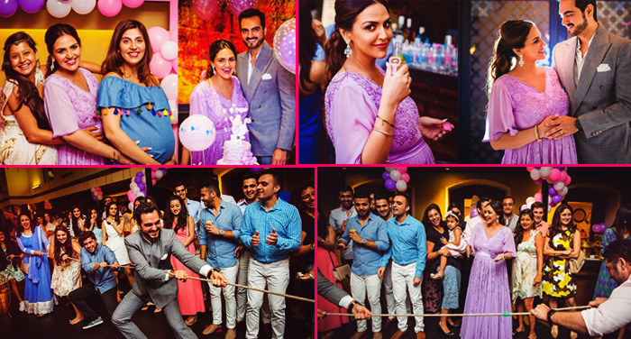 esha deol baby shower party