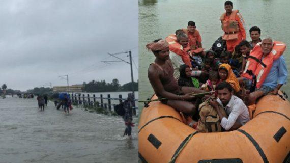 बिहार में बाढ़ का कहर जारी, आज नीतीश कुमार करेंगे हवाई सर्वे