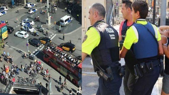 स्पेन आतंकी हमले में 5 संदिग्धों को पुलिस ने मार गिराया और 2 को लिया हिरासत में