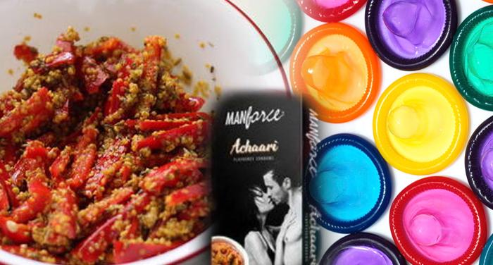 strange, condom, special, aachar Flavor, Company, advertisement
