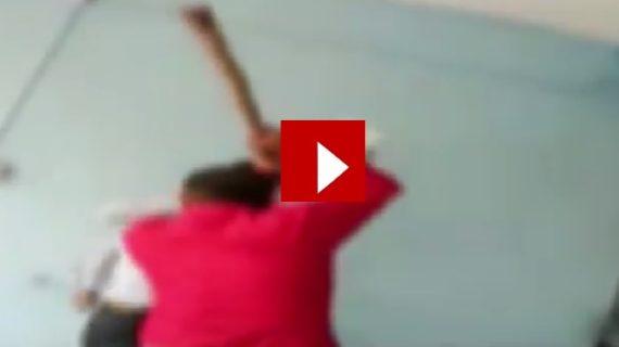वीडियो वायरल: क्लास में पंखे की मांग करने पर हैवान बना प्रिंसिपल, छात्रों को डंडे से पीटा