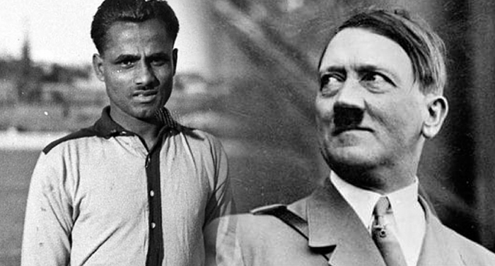 dhyan chand and hitler