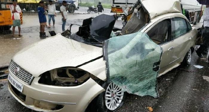 gujarat, truck, jeep, collision, kill, people, Ahmedabad