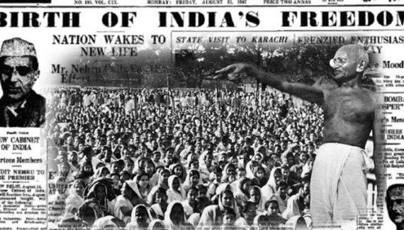 आजादी की लड़ाई में महात्मा गांधी की भूमिका
