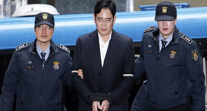 south korea, Sole central distract court, jail, samsung scion, jay y lee,