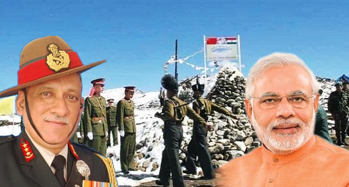 modi and vipin rawat आर्मी चीफ के भरोसे के बाद भारत की हुई कूटनीतिक जीत- सूत्र