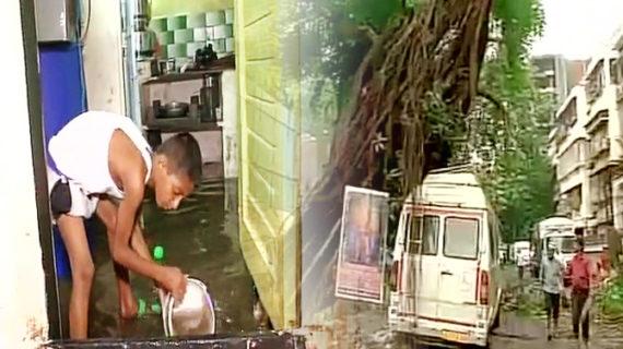 भारी बारिश के चलते समुद्र में तबदिल हुई महानगर की सड़कें, 2 मकान ढ़हने से 3 लोगों की हुई मौत