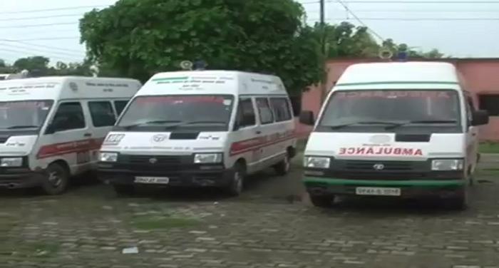 petrol, diesel, ambulance, balrampur, up, hospital