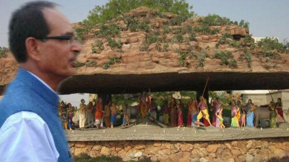 धार्मिक यात्रा के लिए मथुरा पहुंचे सीएम शिवराज सिंह चौहान