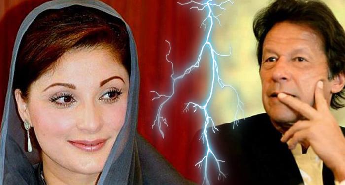 imran khan, pakistan, mariyam sharif, nawaz sharif, twitter, spat