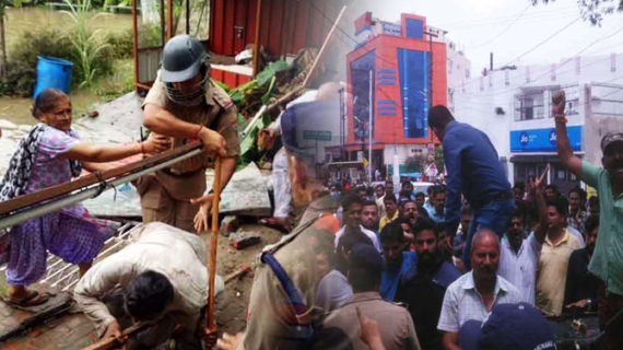 मंत्री सतपाल महाराज और मंत्री मदन कौशिक के समर्थक आपस मे भिड़े, मेयर हुए घायल