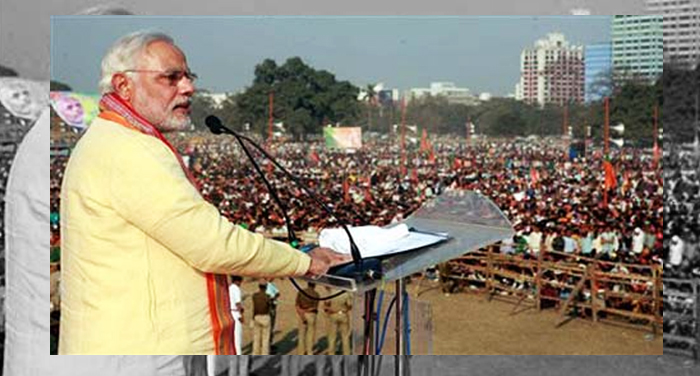 more than, 2 lakh, people, come to welcome, Modi, Waterproof, tant, making,cost, more than, crores,