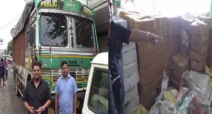 One arreste, including, 473 Boxes, illegal, liquor, excise Department, police