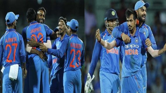 पांड्या और धोनी बल्लेबाजी और भारतीय गेंदबाजों के बेहतरीन प्रदर्शन से ऑस्ट्रेलिया को मिली मात