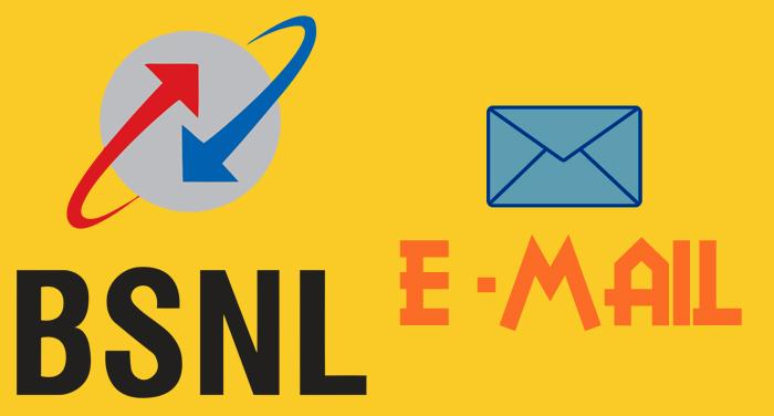BSNL e mail