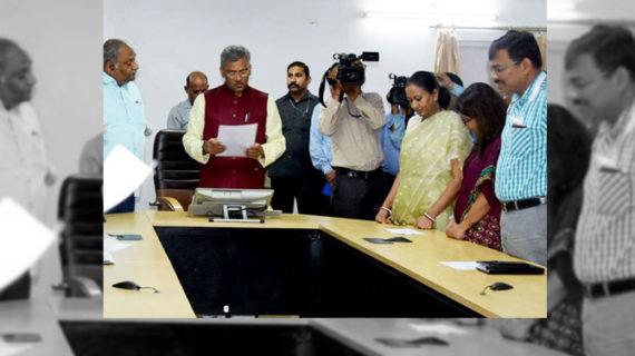 जल, जीवन, और पर्यावरण ही हिमालय है: सीएम त्रीवेंद्र सिंह रावत