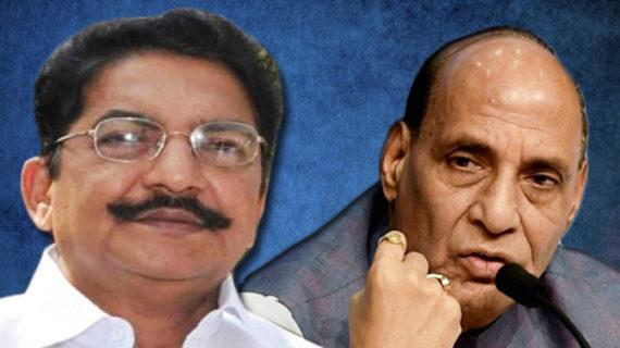 चेन्नई में राजनीतिक हलचल के चलते तमिलनाडु के राज्यपाल ने की राजनाथ से मुलाकात