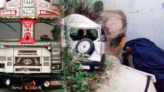 बिहार: बेखौफ शराब माफियाओं ने ट्रक से पुलिसकर्मियों को रौंदा, 5 की मौत