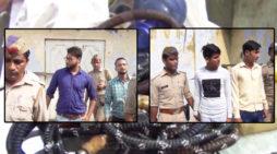 पुलिस ने हुक्का बार में की छापेमारी, एक व्यापारी सहित 3 गिरफ्तार
