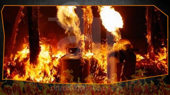 तेलंगाना में एलपीजी सिलेंडर के गोदाम में लगी आग, 40 सिलेंडर हुए ब्लास्ट