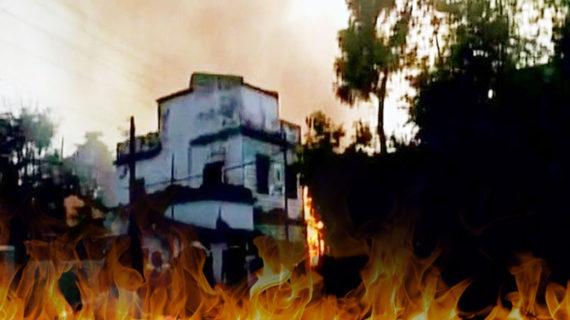 झारखंड में अवैध पटाखा फैक्ट्री में लगी आग, 8 की मौत