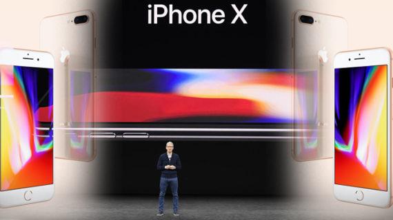 जानिए: एप्पल ने लॉन्च किया आईफोन-X, 8, 8+, जाने क्या है खास