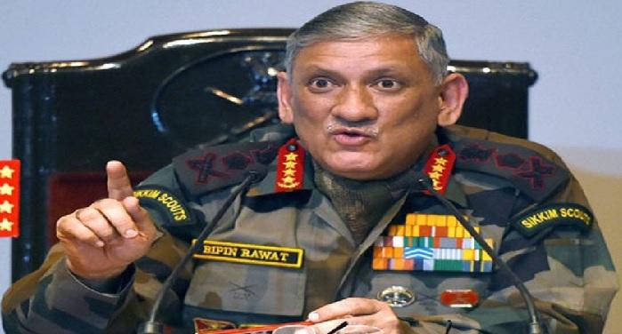 china government, slams, indian army chief, bipin rawat, doklam