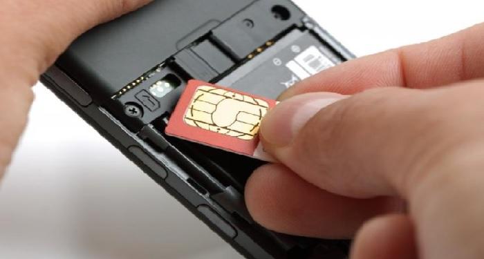 adhar card link with sim card