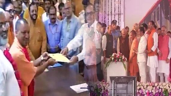 मेट्रो उद्घाटन: श्रीधरन और उनकी टीम को बधाई- सीएम योगी