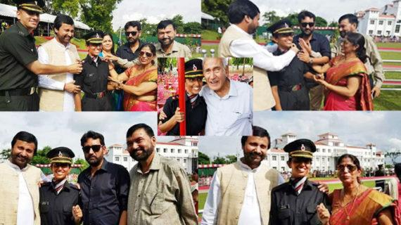 भाजपा के मंत्री की बिटिया ने सैन्य अफसर बनकर किया नाम रोशन
