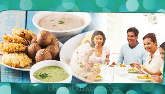 नवरात्र में सेहत की थाली रखे की आपकी एनर्जी बरकरार