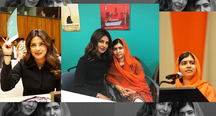 priyanka chopra and malala yousafzai